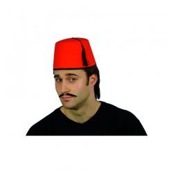 Inchiriere Chipiu turc (toca, fetru), culoare rosie, barbati