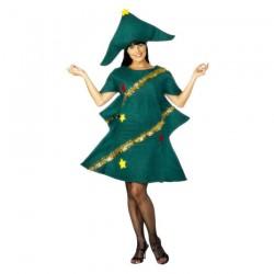 Inchiriere Costum bradut, rochie culoare verde, femei