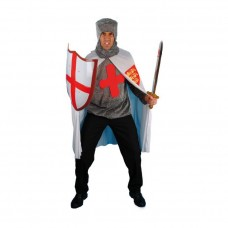 Inchiriere Costum soldat cruciat, panataloni negri, bluza imitatie camasa zale, barbati