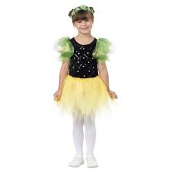 Inchiriere Costum Floare, rochie galben cu negru, fete