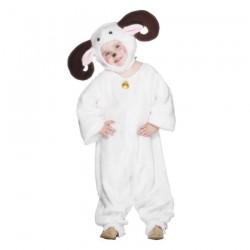 Inchiriere Costum Ied, combinezon alb, pufos, fete, baieti
