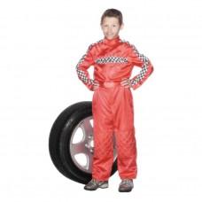 Inchiriere Costum Mecanic, Pilot Formula 1, combinezon rosu, baieti