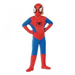 Inchiriere Costum Spiderman, culoare albastru cu rosu, baieti, fete