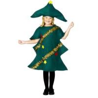 Inchiriere Costum Bradut, rochie verde inchis, fete