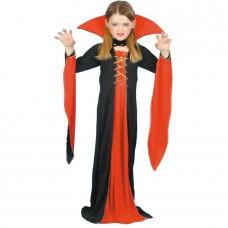 Inchiriere Costum Ghotic Lady, rochie rosu/negru, fete